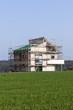 Modernes Einfamilienhaus in Bau
