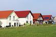Neue Einfamilienhäuser