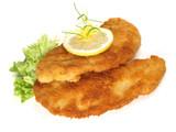 Fototapety Panierte Schnitzel