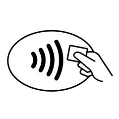 Carte bancaire - paiement sans contact