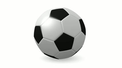 Sich drehender Fussball (FullHD 29,97FPS)