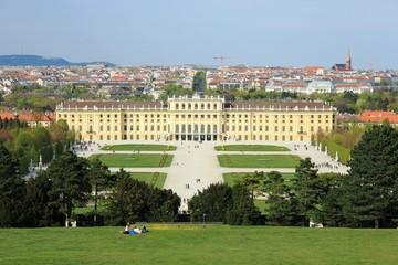 Schloss Schönbrunn in Wien Panorama