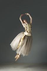 Ballet dancer in ornate gown