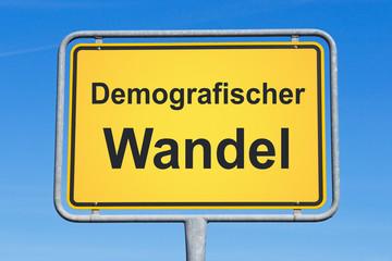 Demografischer Wandel