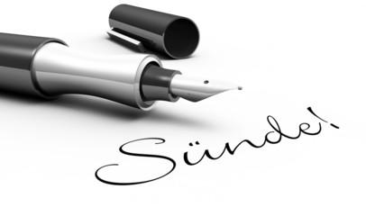 Sünde - Stift Konzept