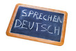 sprechen deutsch, german is spoken