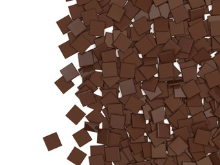 Chocolate Background with place for your text