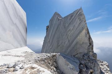 Toscana: Alpi Apuane, cava di marmo 4