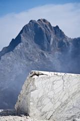 Toscana: Alpi Apuane, cava di marmo 8