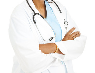 Ethnic Female Doctor - Arms Folded