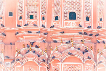 Hawa Mahal is a palace in Jaipur