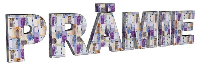 3D Geldschrift - PRÄMIE