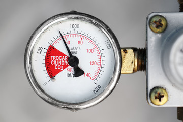 Gauge closeup