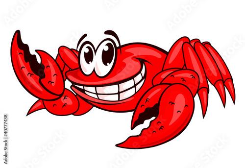 Smiling red crab - 40777438