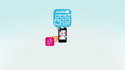 Apps on Smart Phone Intro Animation
