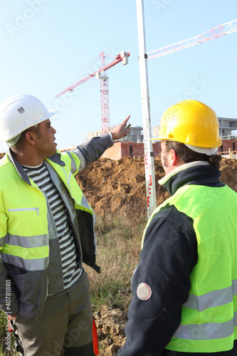 manpower in construction site