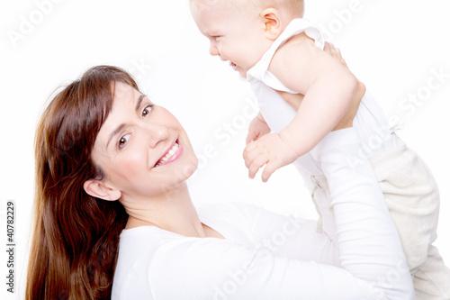 mama mit baby 2