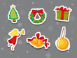 Sticker collection of presents