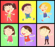 Kids on colours