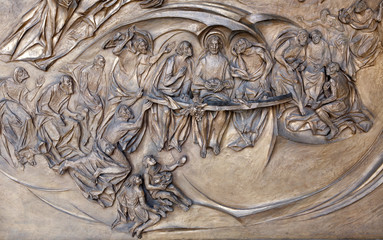 Rome - Last supper of Christ -  Santa Maria Maggiore