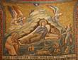 Rome - mosaic of The Nativity in Santa Maria in Trastevere