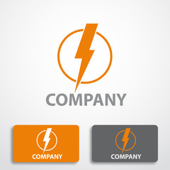 Stylized logo energy # Vector