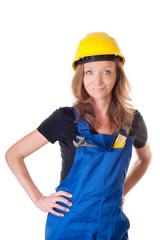 Handwerkerin - Arbeiterin - worker