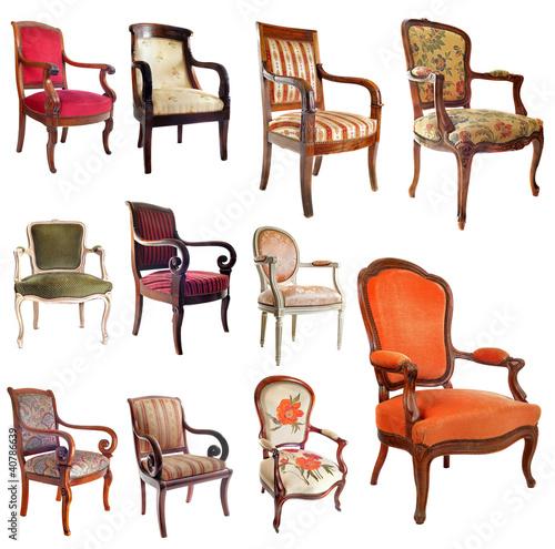 fauteuils anciens