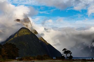 Fiord Milford Sound, New Zealand