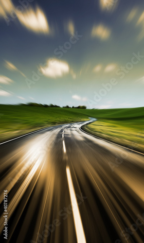 empty road ahead
