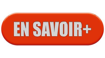Button orange Seiten rund EN SAVOIR +