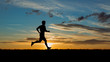 Jogger bei Sonnenaufgang - 40794002