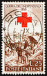 Postage stamp Italy 1959 After the Battle of Magenta, by Giovann