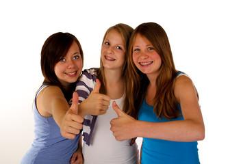 Drei Mädels