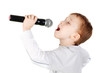 Cute little singer