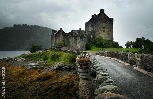 Castillo de Eliean Donan, Szkocja, autor: Carlos Sanchez