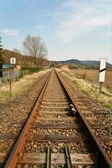 Eisenbahnschiene, Railway track