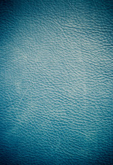 Blue leather with gradient style for background usage