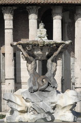 Triton fountain in Rome