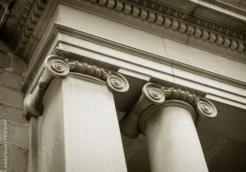 Leinwanddruck Bild columnas