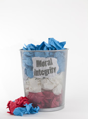 Politics: Don't Throw Integrity Away