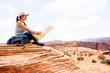 Woman at the Grand Canyon