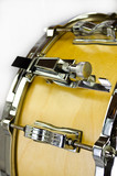 yellow plywood snare drum poster