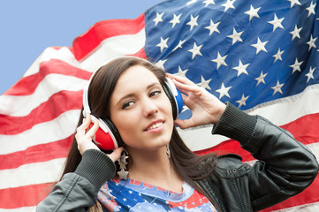Learning language - American English (girl)