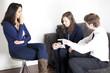 Mann verlangt Scheidung beim Psychologen