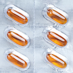 Medical capsules packaged