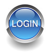 login blue button