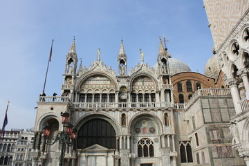 San Marco Square in Venice ( Italy )