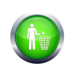 ecologic envairment recycling proces icon