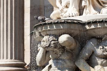 Statue vor Albertina, Wien